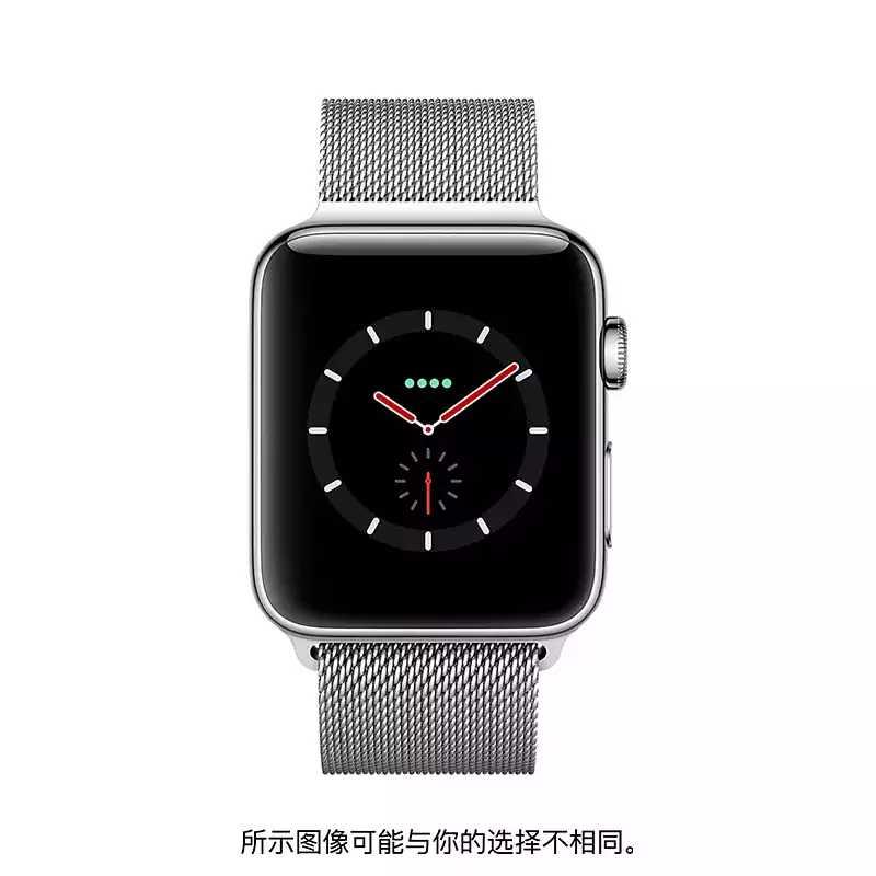 Apple/苹果 不锈钢表壳搭配米兰尼斯表带