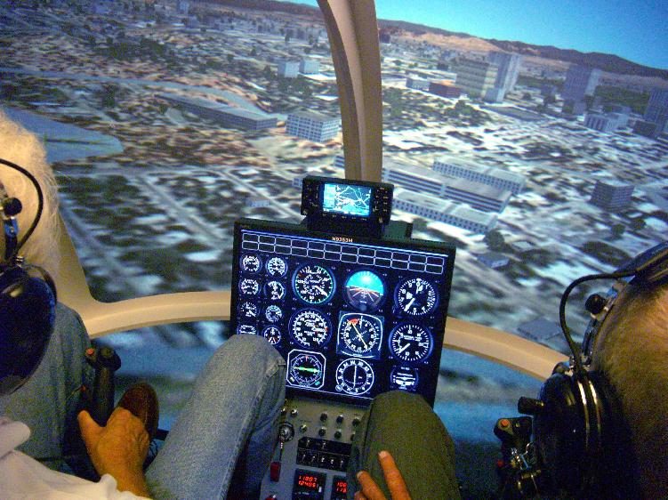 直升机专业飞行模拟器