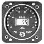 滑油压力/温度表