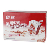 银鹭花生牛奶250ml*16