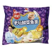统一100老坛酸菜鱼袋面118g
