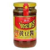 海天辣黄豆酱340g