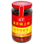 海天锦上鲜蒜蓉辣椒酱350g