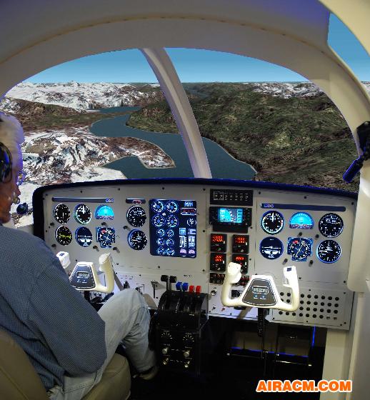 固定翼飞行模拟机