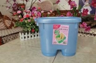 保健按摩泡脚桶塑料加高增厚 洗脚桶 洗脚盆足浴盆