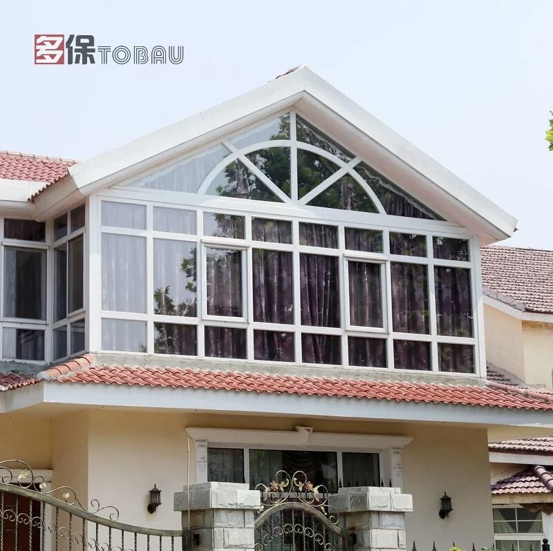 多保别墅阳光房玻璃房 钢结构铝合金阳光房设计中空玻璃上海北京