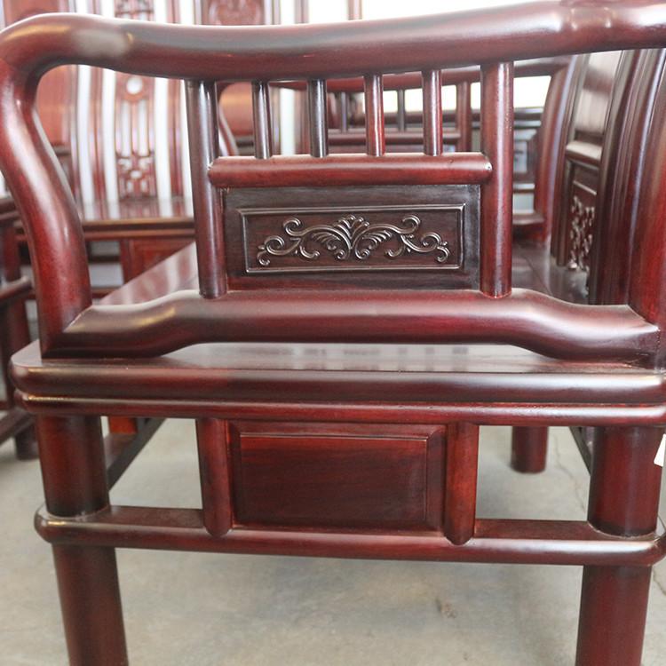 厂家直销红木家具 客厅系列 明式王沙发送沙发