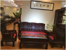 万事如意沙发送坐垫 广州福满堂实木家具 红木家具厂家直销