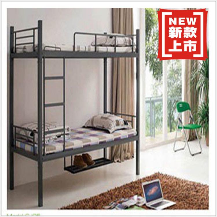 【朗丽】直销学校学院工厂学生上下位铁床铺 简易去架床定做批发