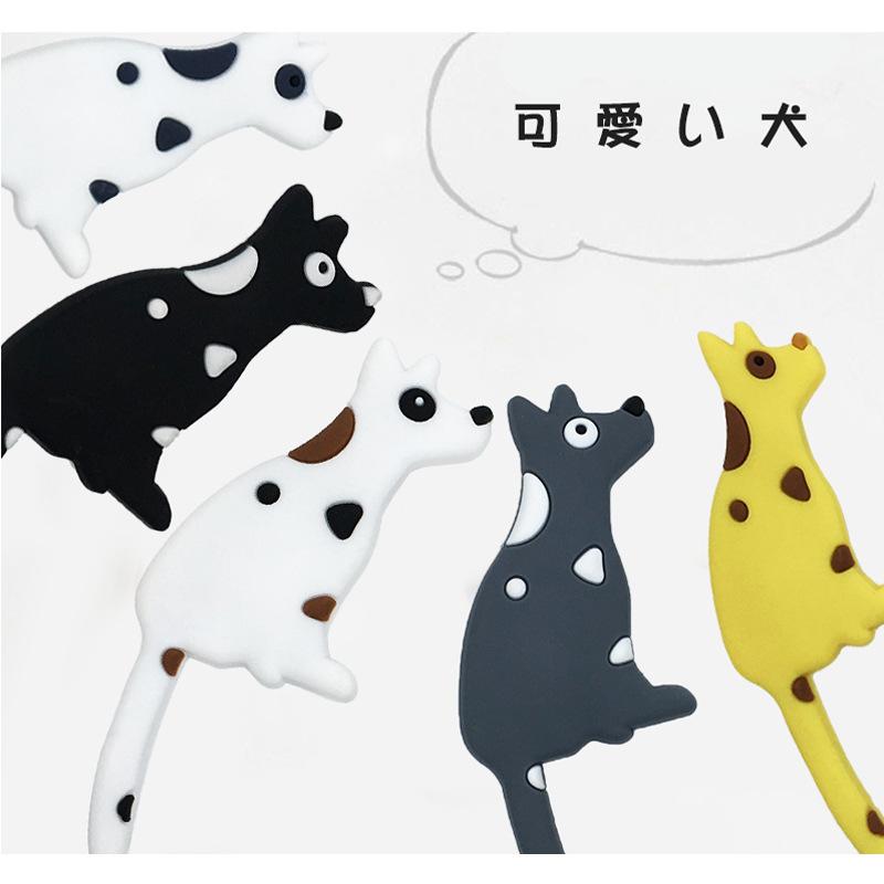 创意卡通可爱狗尾巴挂钩 冰箱装饰小物件挂钩 pvc磁铁冰箱贴