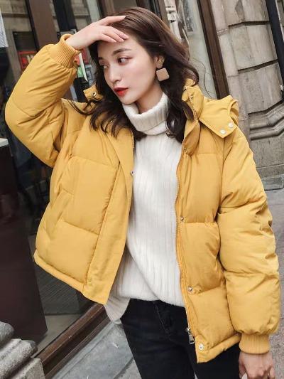 2018冬季新款外套棉服宽松bf面包服女学生韩版加厚羽绒棉衣女短款